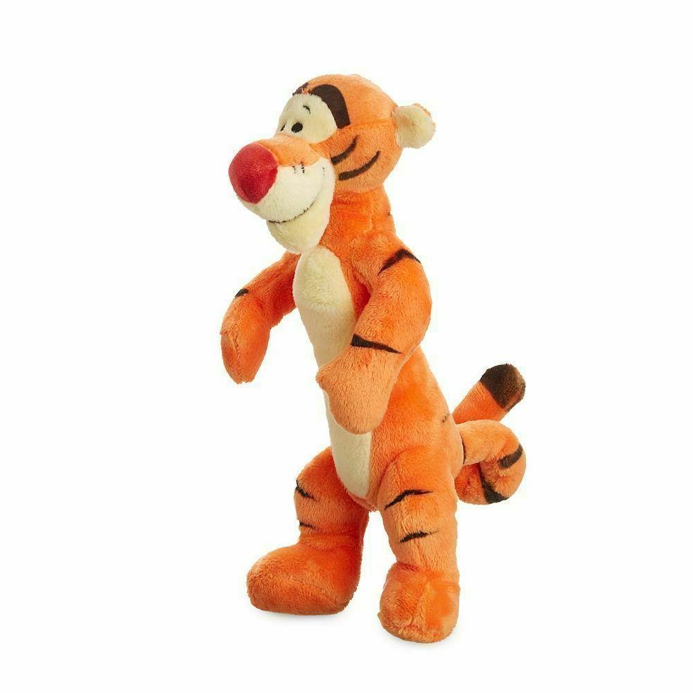 "Disney Tigger Plush Doll 9"" Toy Winnie Pooh Stuffed Animal"