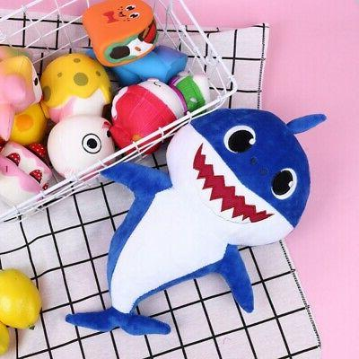 Animal Cartoon Pinkfong Shark Plush Playing Gift