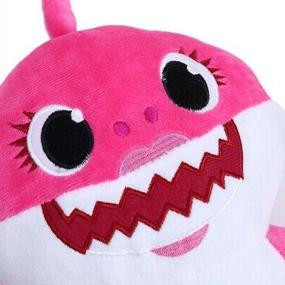 Shark Music English Song Toy Plush