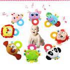 Baby Rattles Infant Animal Hand Bell Kids Plush Toy Developm