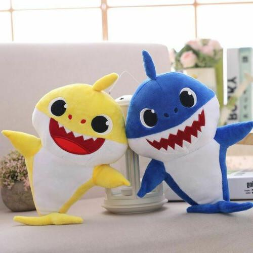Baby Shark Cartoon Plush Doll Kids