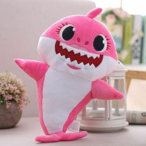 Baby Shark Cartoon Plush Doll Song