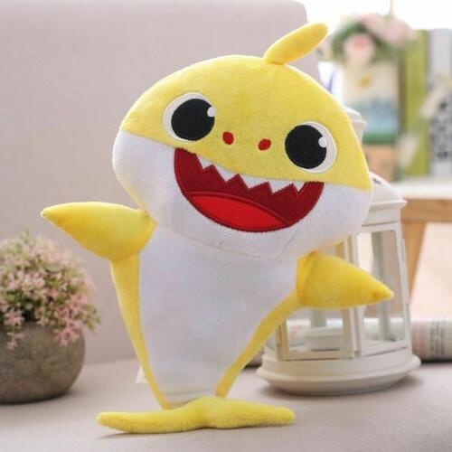 Baby Cartoon Plush Singing Toys Doll English Kids