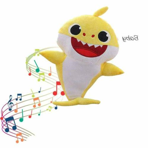 Baby Singing Cartoon Toys Music Doll English Stuffed