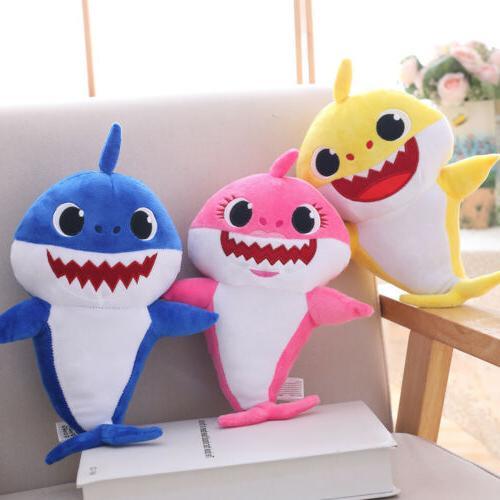 Baby Shark Plush Plush Toys Song Doll English