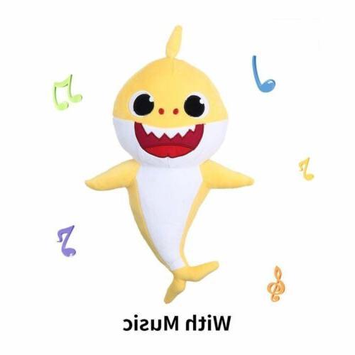 Baby Shark Plush Song Music Doll Creative