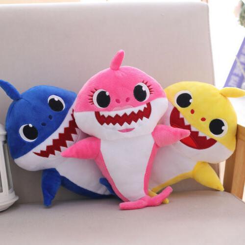 Baby Shark Plush Plush Toys Doll Gift English