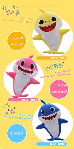 Baby Shark Toys Kids Gift Stuffed