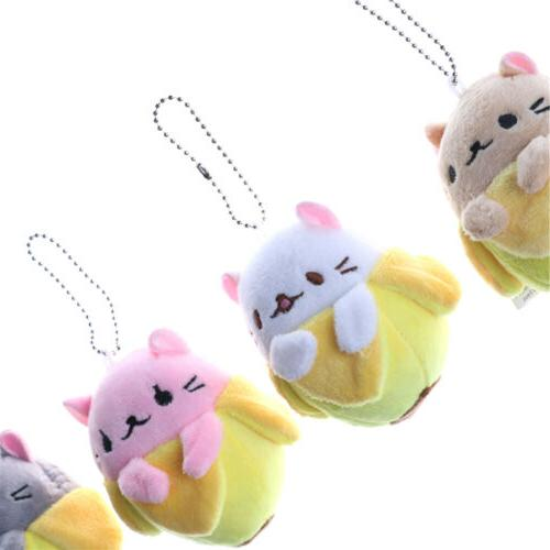 Banana Toy Soft Keychain BS