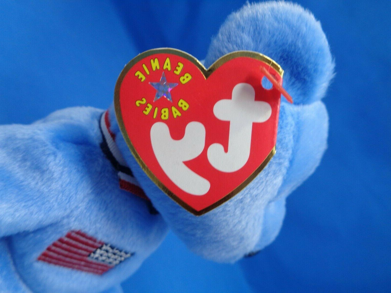 Ty AMERICA Patriotic Bear 9/11 ~Plush Toy