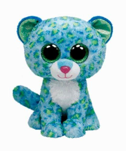 beanie baby boos leona blue and green