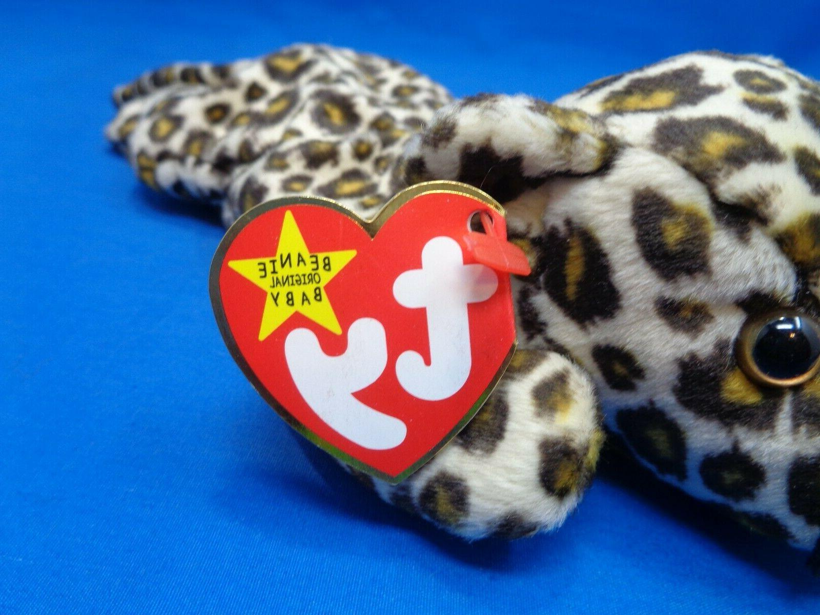 Ty Beanie FRECKLES the Leopard Plush Beanbag