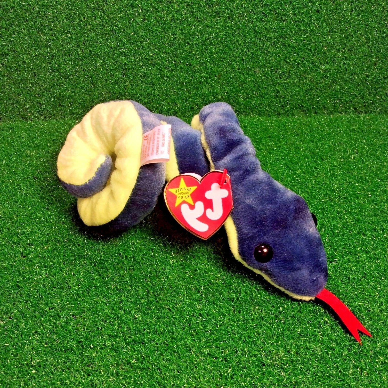 Ty Baby The Snake PE Plush Toy - Free Shipping