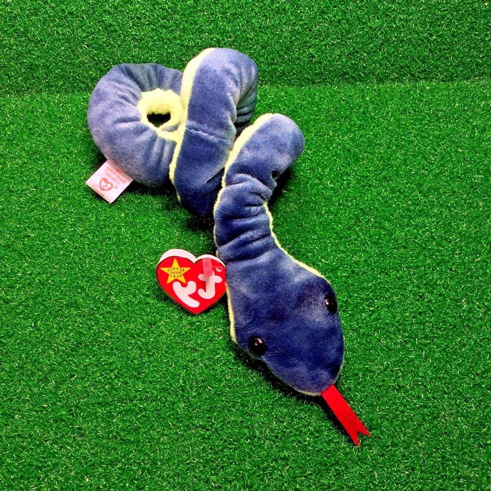 beanie baby hissy the snake 1997 retired