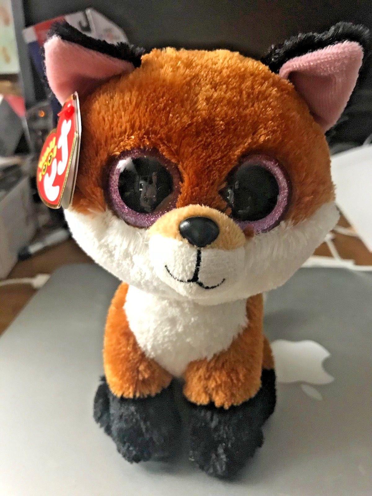 beanie boos 6 inch slick brown fox