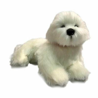 bichon frise dog soft plush toy annabelle