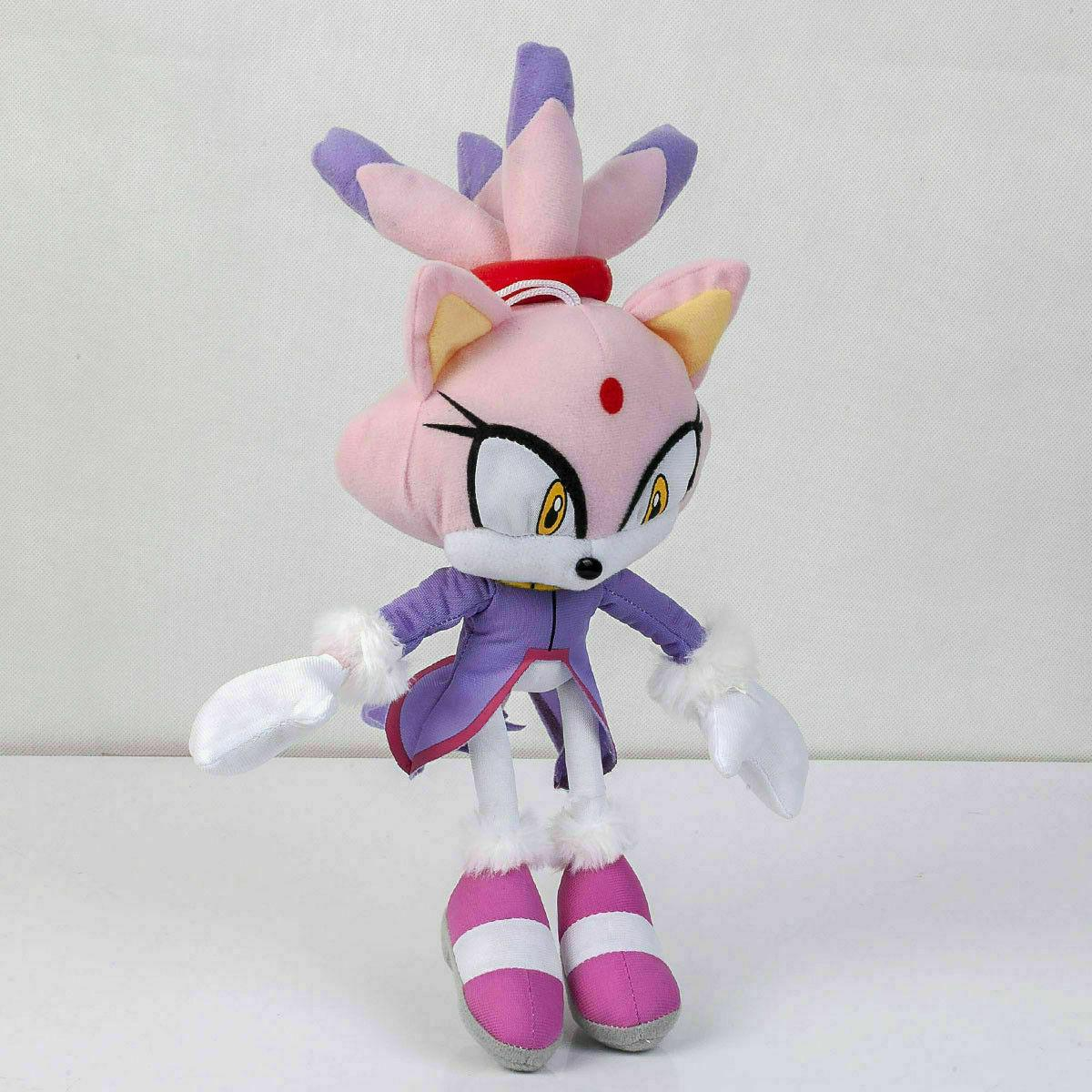 Blaze the Cat Stuffed - 8 In.