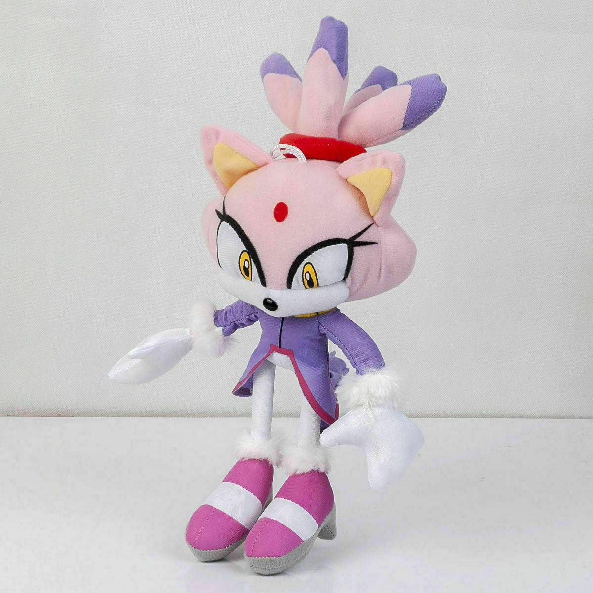 Blaze the Cat Plush Stuffed Figures - 8