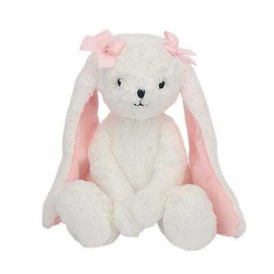 blossom plush bunny stuffed animal toy snowflake