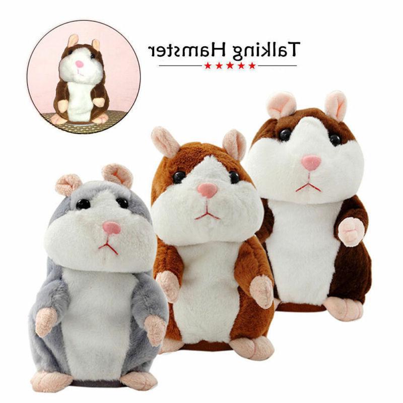 Pudcoco Christmas Hamster Talking Pet <font><b>Toy</b></font> Quality