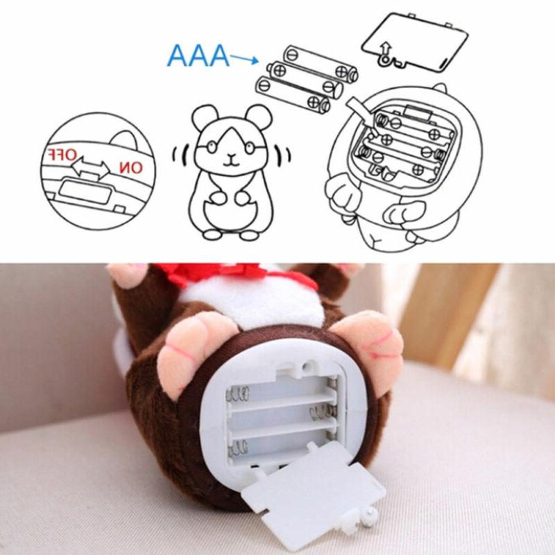 Pudcoco Brand Hamster Talking Pet Soft <font><b>Toy</b></font> Xmas Quality Villus