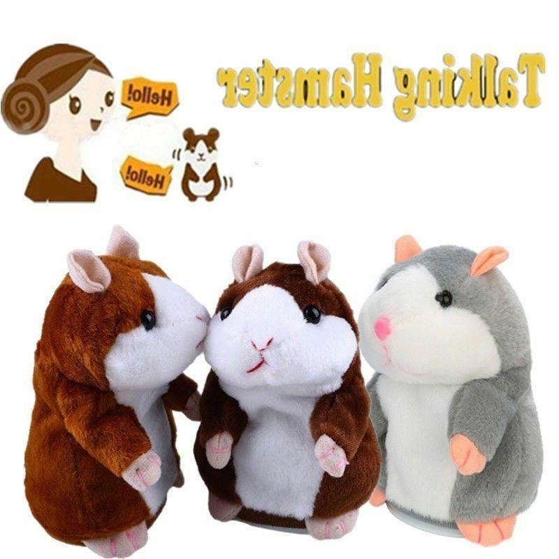 Pudcoco Brand Christmas Hamster Talking Pet Xmas Gift Quality Hamster