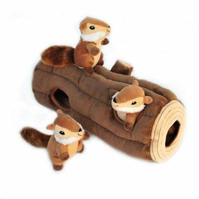 burrow log chipmunks squeaky hide