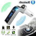 FM Transmitter Bluetooth Hands-free LCD MP3 Player Radio Ada