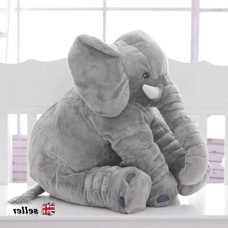 Children Nose Large Elephant Doll Soft Plush Pillow