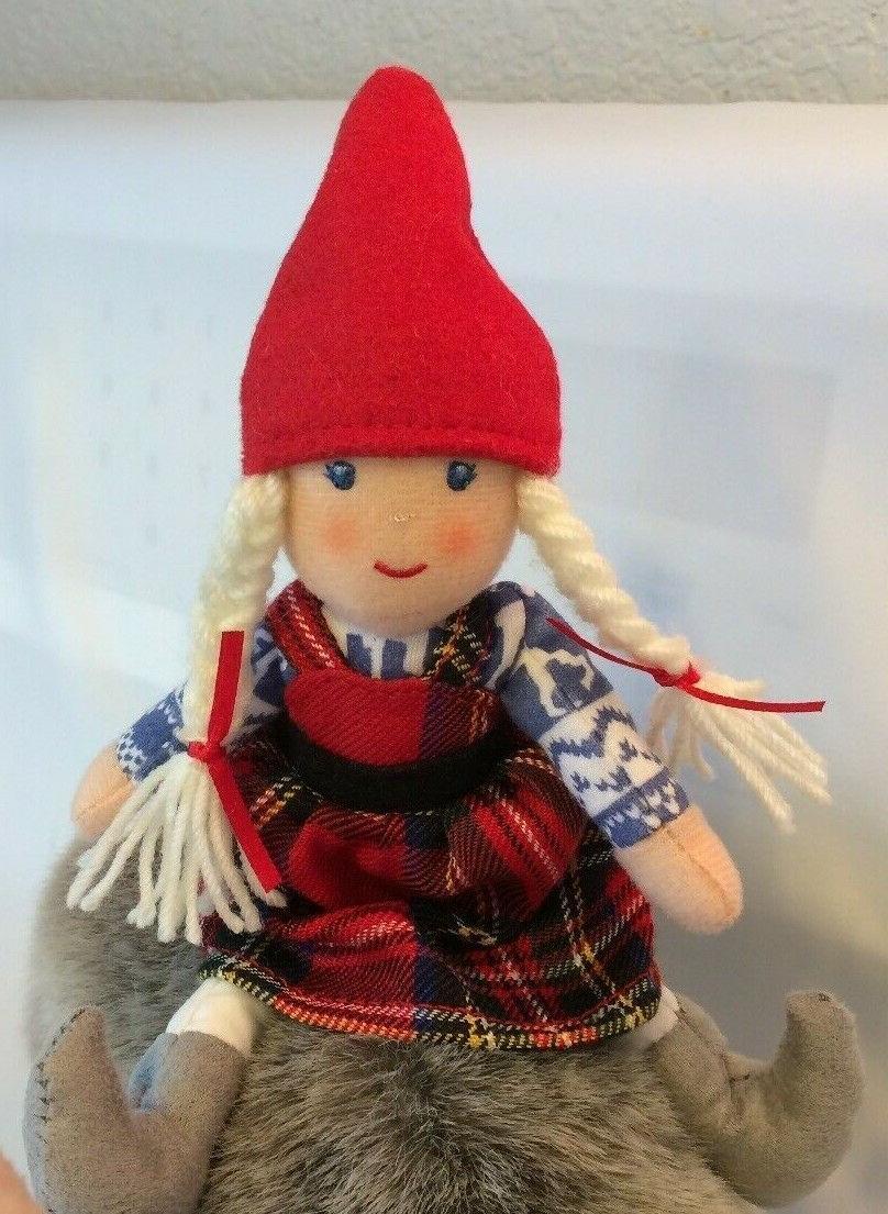 Demdaco Reindeer Wish & Plush Toy-Compliments Book