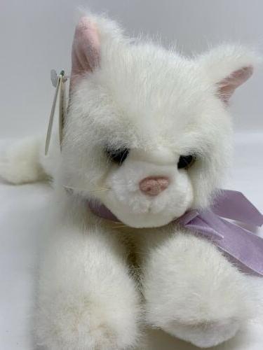 "Bearington Plush Kitten Cat Named 11"" Collectible"