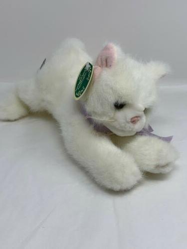 collection plush white kitten cat named sugar