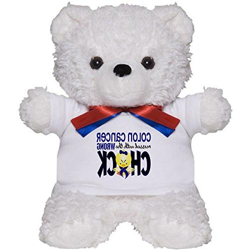 colon cancer messed wrong chick teddy bear