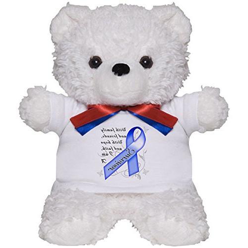 colon cancer survivor teddy bear plush stuffed