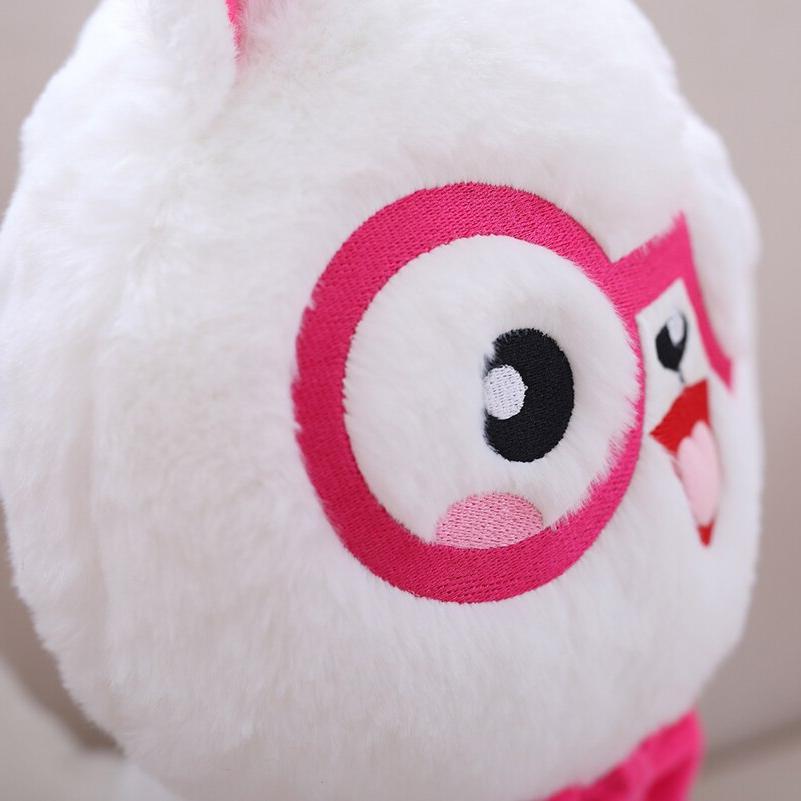Cuddly <font><b>Plush</b></font> Stuffed with Glasses <font><b>Toys</b></font> Pembroke Soft Stuffed Peluches Dolls Baby Gifts Brinquedos