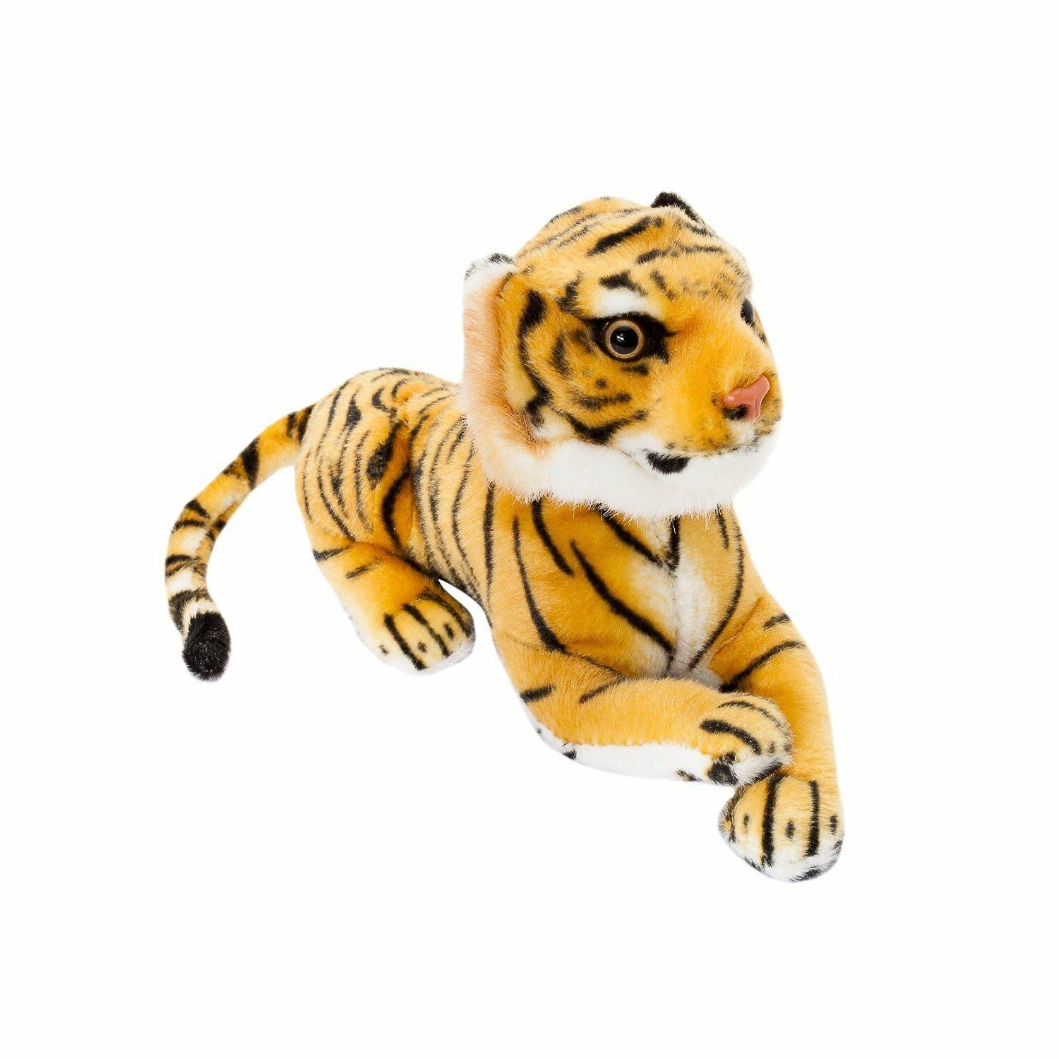 cute brown plush tiger 10 soft toy