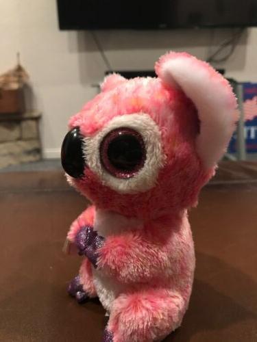 Cute Beanie Boos Plush Toys Glitter Eyes