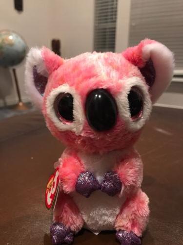cute colorful koala ty beanie boos plush