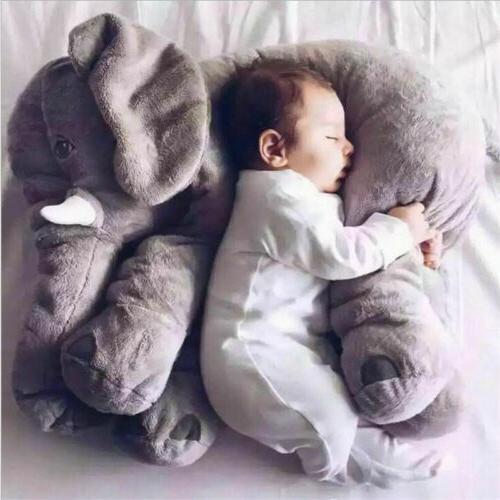 Cute Long Nose Sleep Baby Toy Lumbar Doll