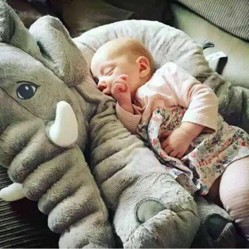 Cute Sleep Lumbar Cushion Doll