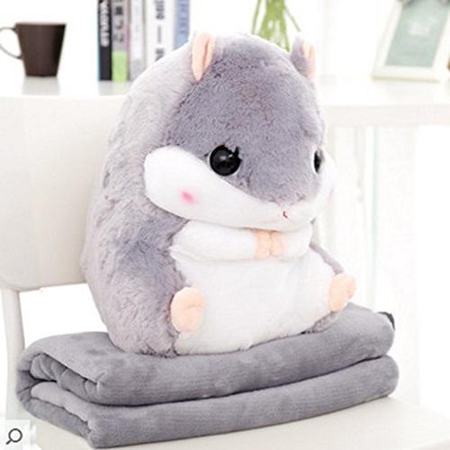 cute plush decorative throw pillow