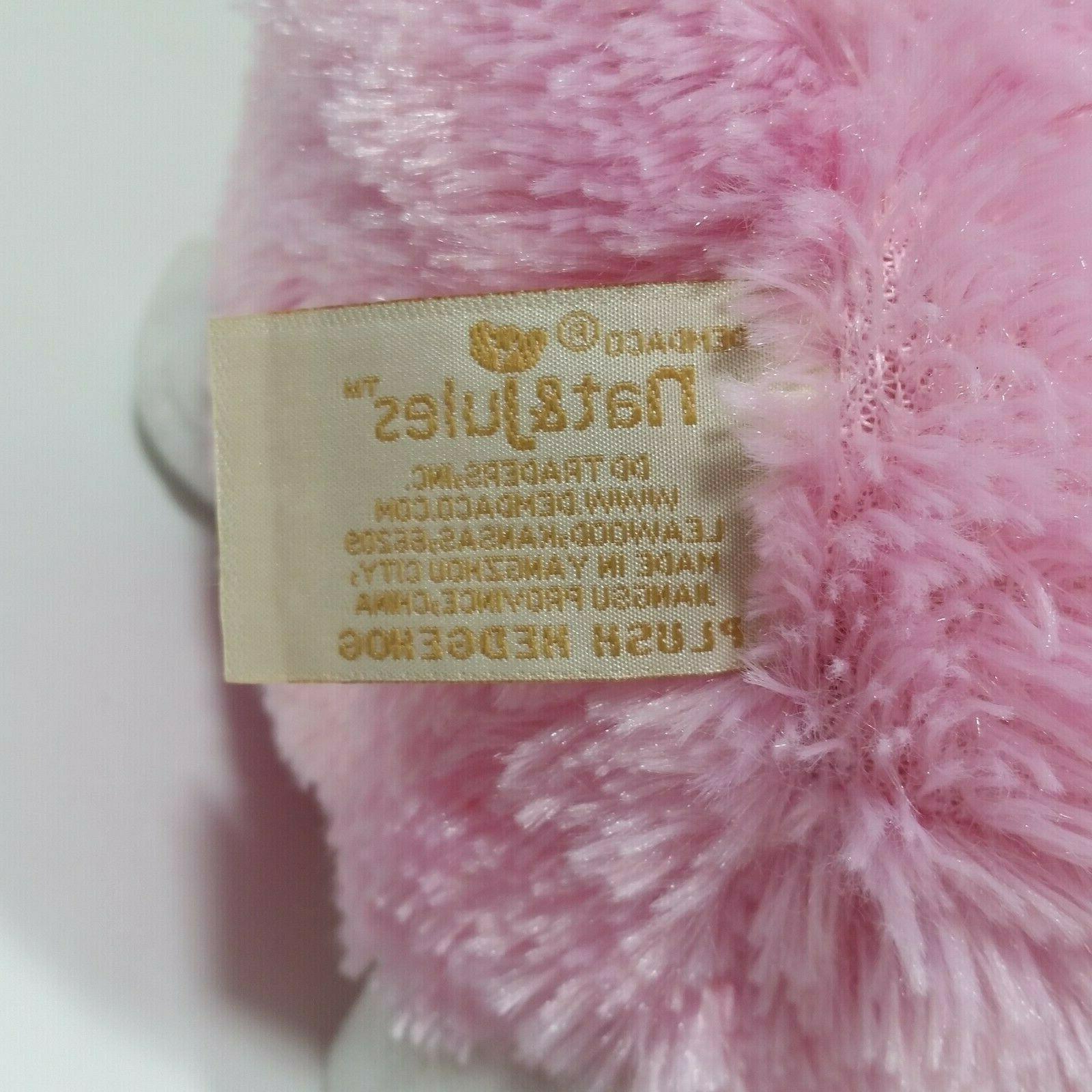 Demdaco Jules Hedgehog 8 Plush Pink Toy