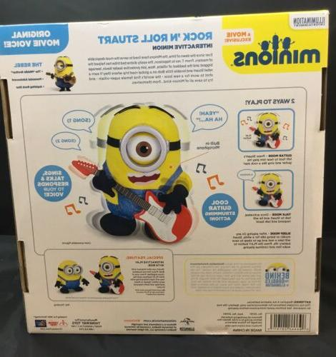 Thinkway Toys Despicable Me Minions Roll Interactive Plush Toy