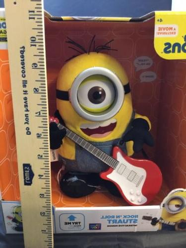 Thinkway Minions - 'n Roll Stuart Plush Toy
