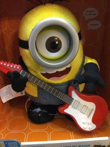 Thinkway Despicable Minions Rock Roll Toy