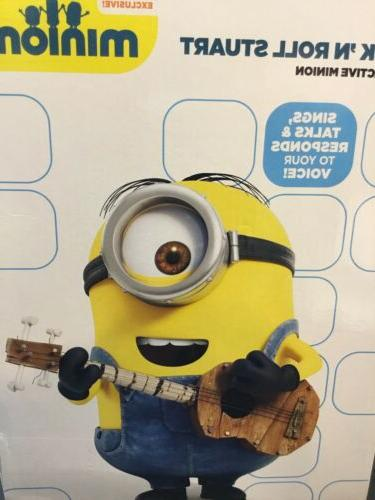 Thinkway Minions Rock 'n Roll Stuart Toy