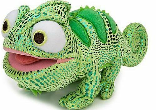 disney rapunzel tangled chameleon pascal plush toy