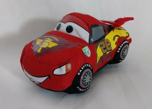 "Disney's Pixar Cars Lightning McQueen  Plush - 6"" Stuffed To"