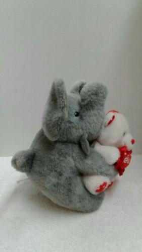 Elephant Pillow Stuff Toys Doll Cushion Baby Valentine's