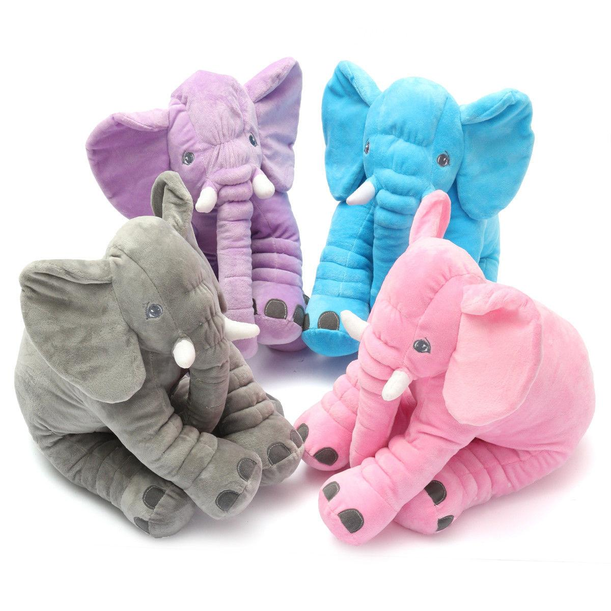 Elephant Stuff Toys Cushion Baby